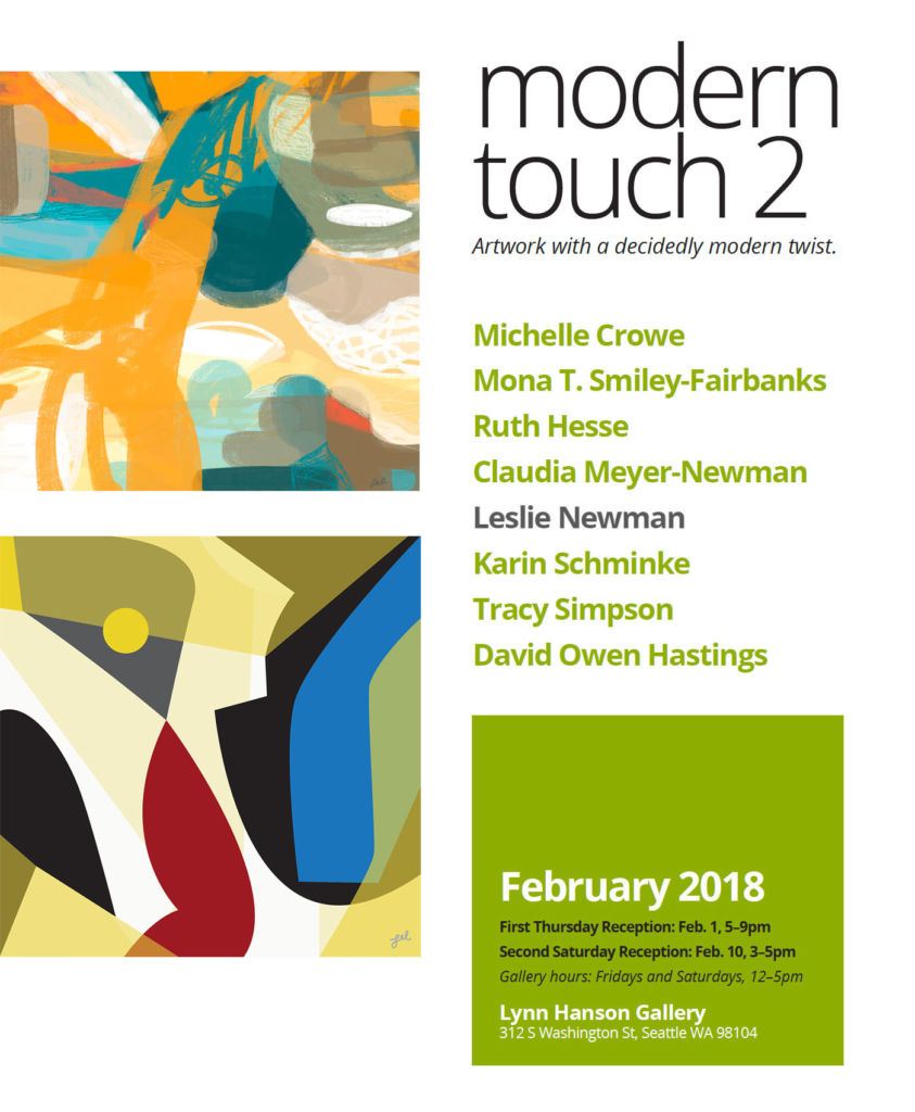 Modern Touch 2 - Artwork with a decidedly modern twist.