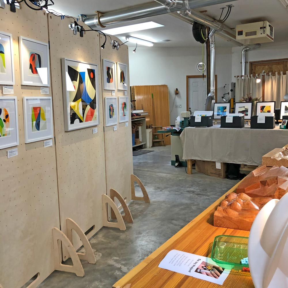 Open studio art show