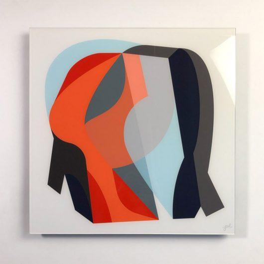 Plexi print abstract artwork
